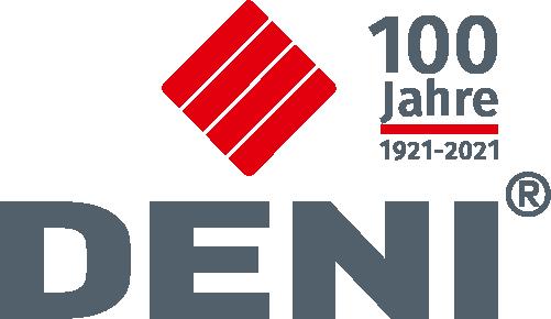 DENI-Jubiläumslogo 100 Jahre